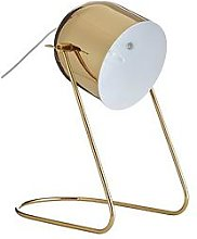 Eden Metal Desk Lamp - Gold