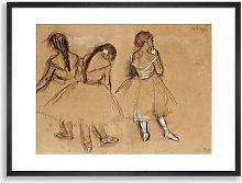 Edgar Degas - 'Three Dancers' Ballet