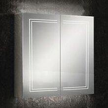 Edge 80 Aluminium LED Double Door Bathroom Cabinet