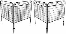 Edge Fencing, Rustproof Iron Garden Fence,