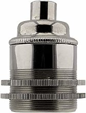 Edison Screw (E27) Solid Metal Earthed Lampholder