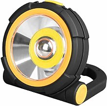 Edm 36402 LED Flashlight with 2 Powers and