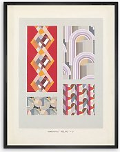 Edouard Benedictus - Relais Plate 7 Framed Print,