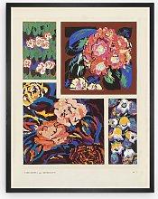 Edouard Benedictus - Variations Plate 3 Framed