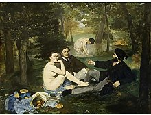 Edouard Manet Luncheon On The Grass Art Print