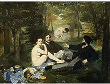Edouard Manet Luncheon On The Grass Large Wall Art