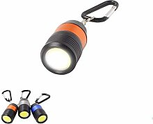 Edp 6843480931 Key Ring Flashlight Cob, Multicolour