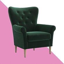 Edward Armchair Ophelia & Co. Upholstery: Dark