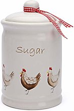 EEMKAY® New Ceramic Henrietta Tea Coffee & Sugar