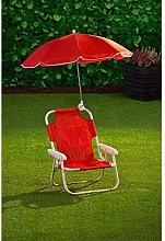EEMKAY® New Children's Garden Chair & Parasol