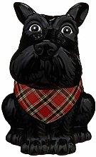 EEMKAY® New Scotty Dog Cookie Jar & Cookies 150g
