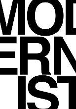 EEP Deltanova Modernist B&W Unframed Print  -