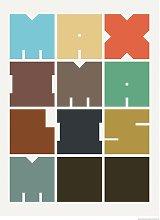 EEP Florent Bodart Maximalism Unframed Print  -