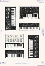 EEP Florent Bodart Synthesizers Unframed Print  -