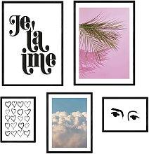 EEP Honeymoon Hotel Je T'aime Framed Print  -
