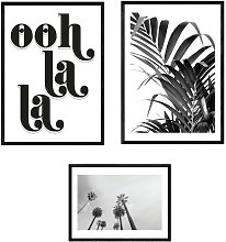 EEP Honeymoon Hotel Ooh La La Framed Print  -