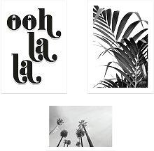 EEP Honeymoon Hotel Ooh La La Unframed Print  -