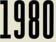 EEP Keeler and Sidaway 1980 Unframed Print  -