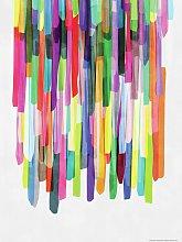 EEP Mareike Bohmer Stripes Unframed Print  -