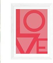 EEP Rafael Farias Love Framed Print - A2