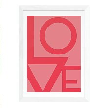 EEP Rafael Farias Love Framed Print- A3