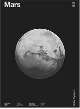 EEP The Clubs Mars Unframed Print  - 60x80cm