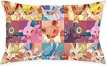 Eeveelution1pc Room, Sofa Pillowcase, Rectangle