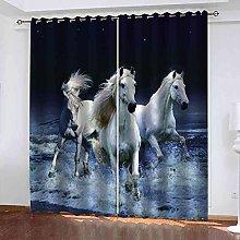EEXDMX Blue seascape animal horse Blackout