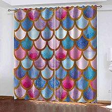 EEXDMX Color scales Blackout Curtains - Super Soft