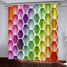 EEXDMX Colorful geometric hexagon Blackout
