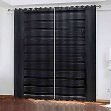 EEXDMX Retro striped art Blackout Curtains - Super