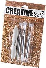 Efco 1830291 Embossing Tool Starter kit 4 Parts,