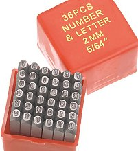 EFCO Ornaments Punch Letters & Numbers 2 mm 65 x