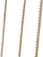 Efco Saw Blades Set 3 x 12 pcs, Metal, Brown, 22 x