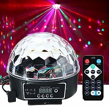 EFGS Disco Lights Ball, 18W 7 Colors LED Disco