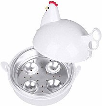EgBert Microwave 4 Eggs Boiler Cooker Poacher