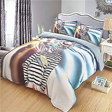 Egcsf Zebra Nursery Bedding Comforter Set Cartoon