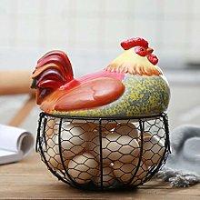 Egg Basket Chicken for Eggs Holder Wire Decor