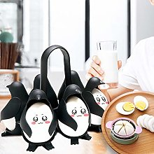 Egg Boiler Cups, Penguin Cartoon Egg Cooker, Chef