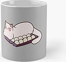 Egg Carton Cat Classic Mug