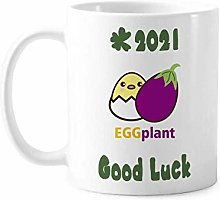 Egg Chicken Eggplant Similar Good Luck 2021 Mug