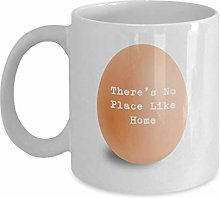Egg Coffee Mug Theres No Place Like Home Funny and