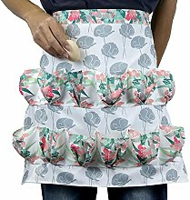 Egg Collecting & Gathering Apron with 12