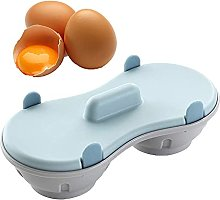 Egg Cooker Microwave, Double Cup Egg Cooker,