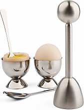 Egg Cracker Topper Cutter Set for Soft Boiled Eggs