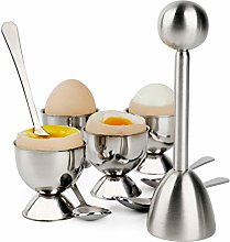 Egg Cracker Topper Set Soft Hard Boiled Eggs
