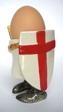 Egg Cup Crusader Knight - N/A - One Size