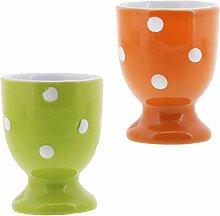 Egg Cup Cute Ceramic Soft Boiled Egg Holder - Set