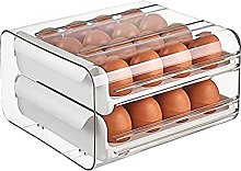 Egg Cup, Egg Box, Large Capacity, 32 Eggs, Double