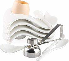 Egg Cup for Soft Boiled Eggs Ceramic Egg Holder